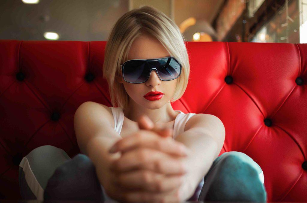 Lesbian escorts - charming blonde